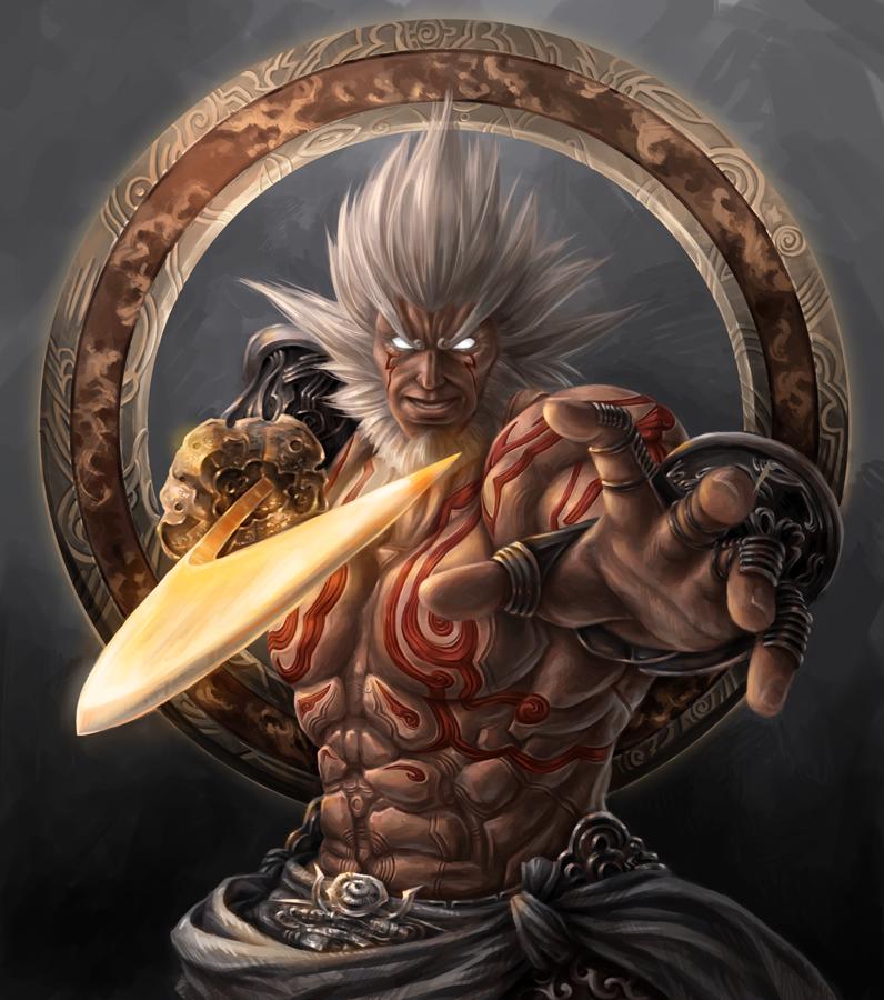 Augus Asura S Wrath By Jxbp On Deviantart Asura S Wrath Character Art Concept Art Characters
