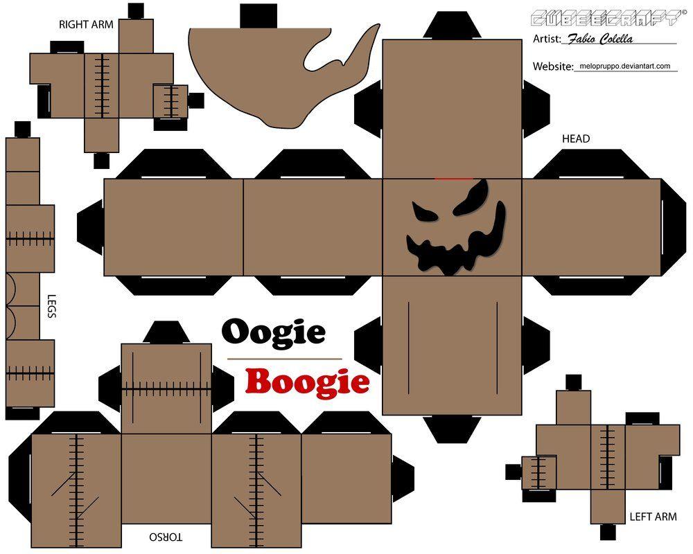 Resultado de imagen de papercraft halloween