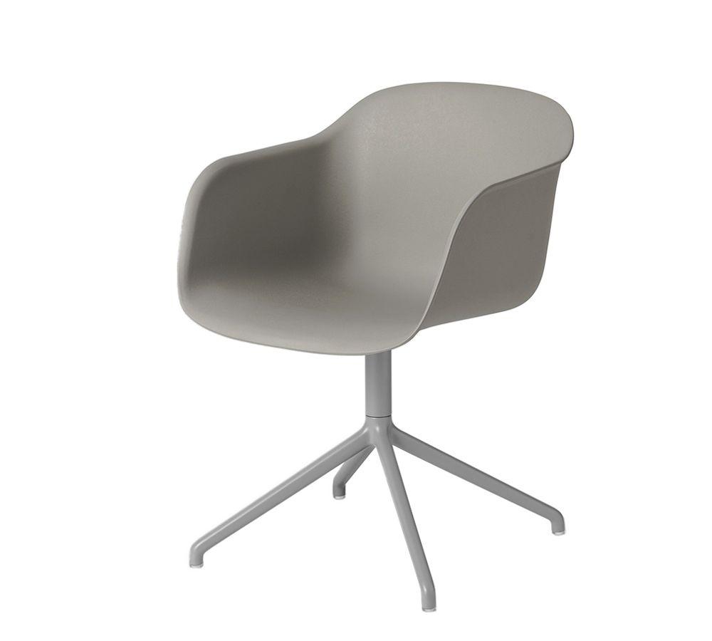 CASANOVA Møbler — Muuto - Fiber Drejearmstol - Grå