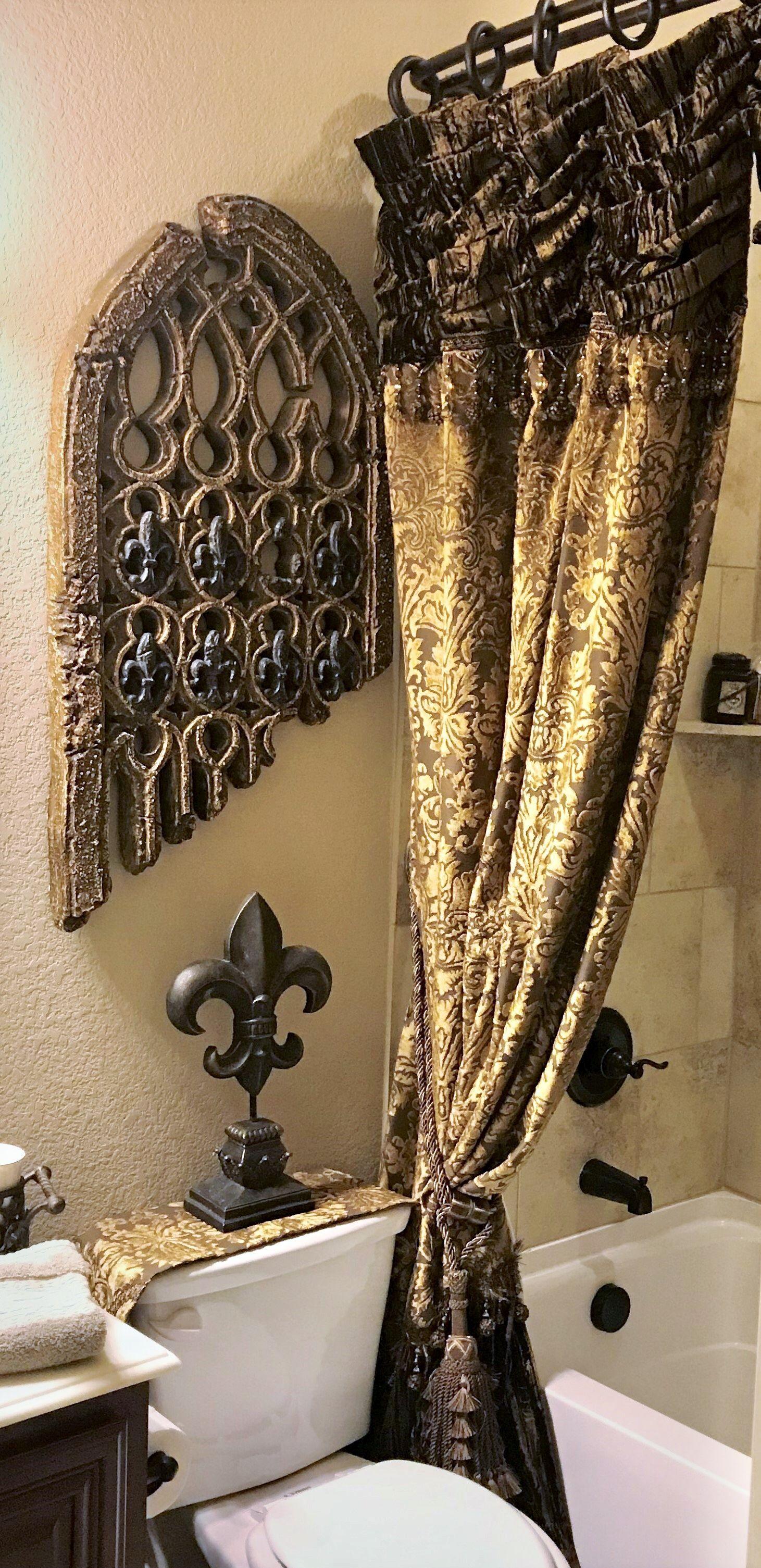 old world style bathroom tuscan