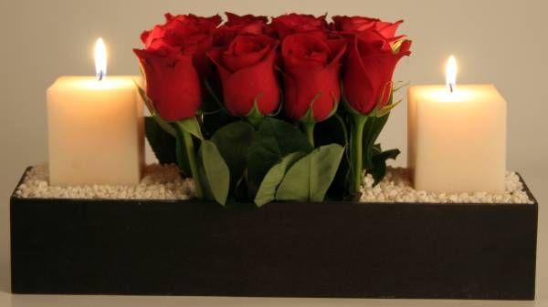 Arreglos florales para San Valentín 2012 - decorando-interiores.com - Revista de decoración del hogar y oficina