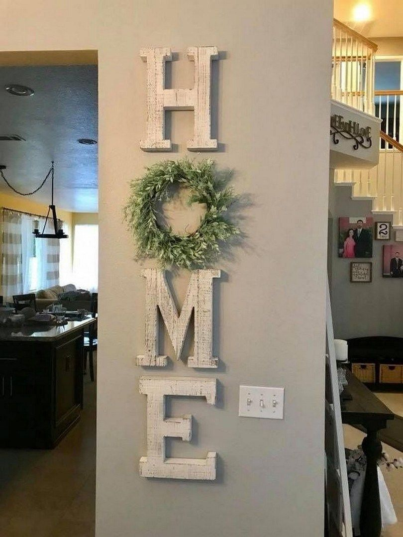 65 Wonderful DIY Rustic Home Decor Ideas Rustic entryway