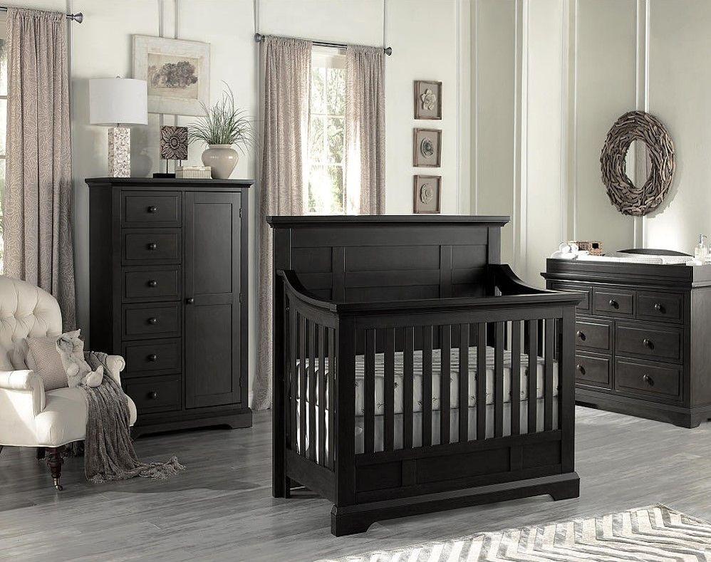 Oxford Baby Dallas 4 In 1 Convertible Crib   Slate Nice Design