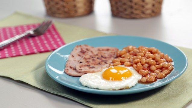breakfast option mini grill once a week only 1 egg 1 teaspoon of rapeseed oil