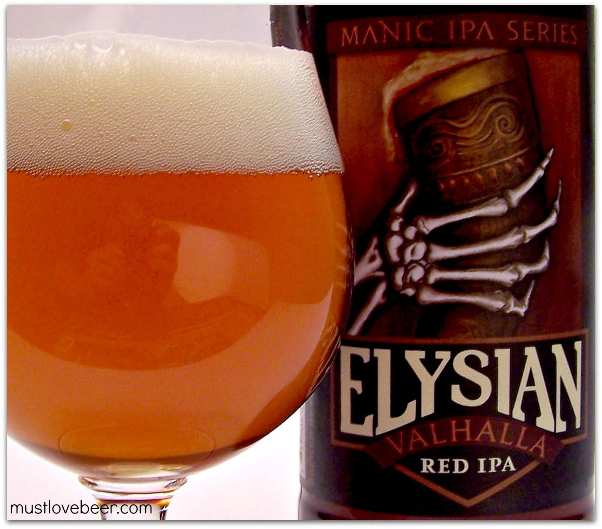 Elysian Brewing Co Manic Ipa Series Valhalla Red Ipa Wa Craftbeer Elysian Brewing Wine And Spirits Craft Beer