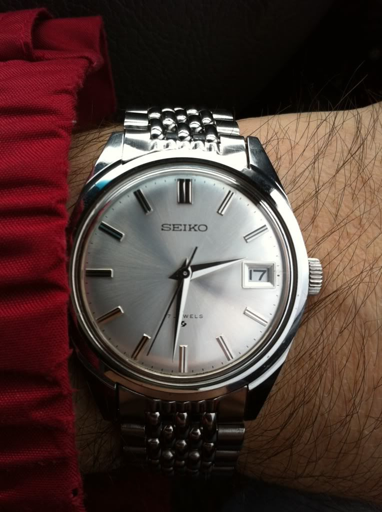 91ec4016ff6af3 Seiko 6602-8050 - these classic Seiko models have bags of style, and are a  total bargain for what they are, which is amazing.