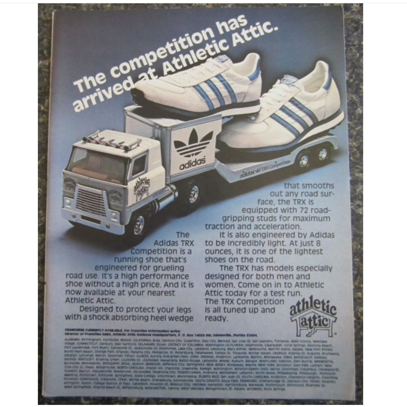 Pin By Mad Fashion Garage On Adidas Originals Trainers Sneakers Vintage Shoe Adverts Posters Image Archive History Rare Promotional Advertisements All Adidas Footwear S Adidas Retro Sneakers Adidas Ad