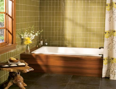 Exceptionnel Bathroom Remodel In Lincoln, Nebraska: Ceramic Tile Tub/Shwer.
