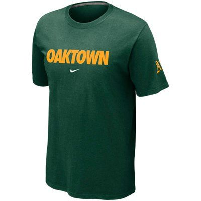 innovative design d9619 98738 Nike Oakland Athletics Oaktown Local T-Shirt | MLB Gear ...