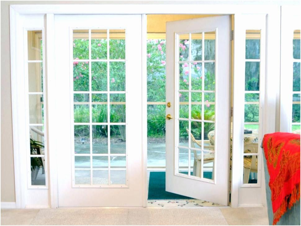 Folding Patio Doors Lowes In 2020 French Doors Patio Exterior
