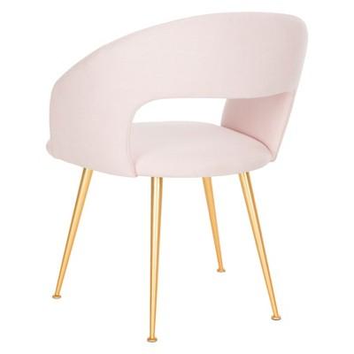 Lorina Arm Chair Light Pink - Safavieh | Chair, Accent ...