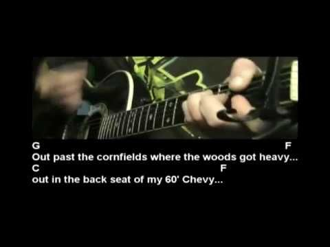 How to play Night Moves by Bob Seger - Guitar Lesson Tutorial ...