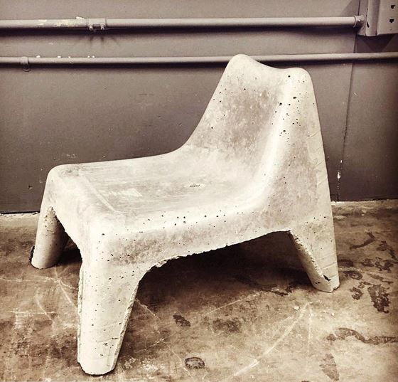 How To Build Concrete Patio Furniture Courtesy Of Benuyeda And