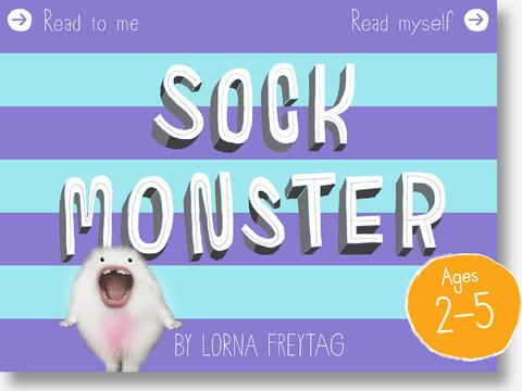 The Sock Monster by Junoberry ($4.99)