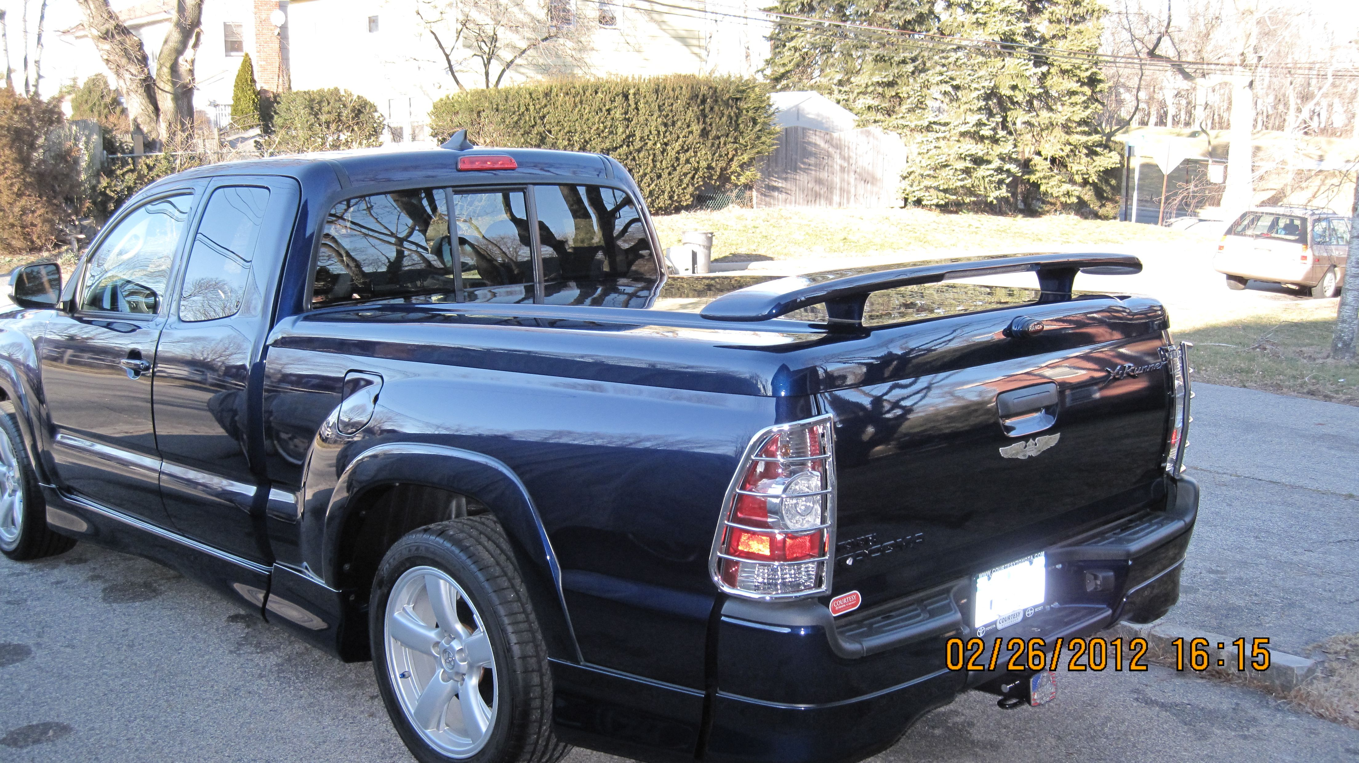 2012 Toyota XRunner 6' Bed Color 8P4 (Dark Blue