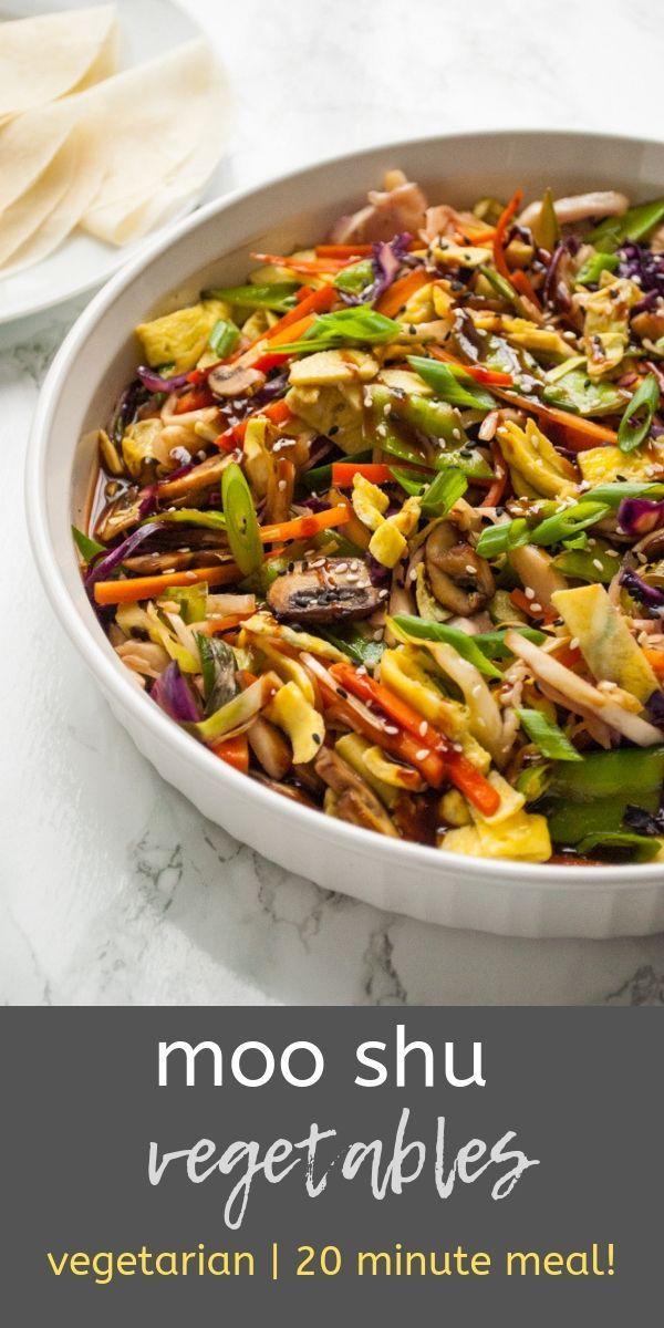 Moo Shu Vegetables images