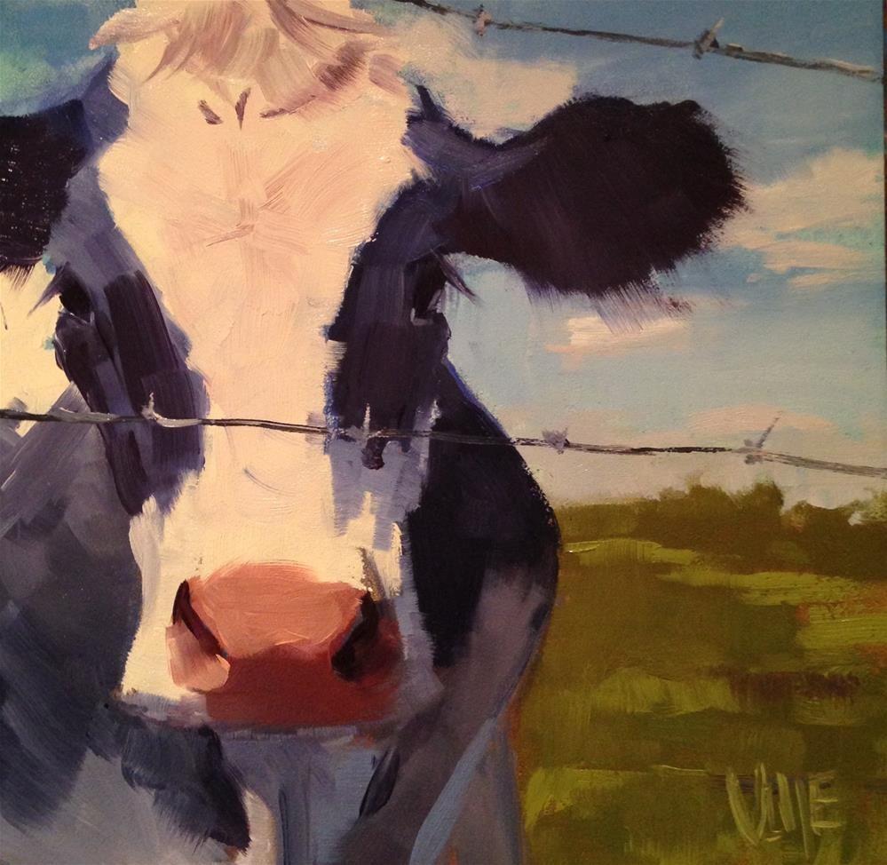 Daily Paintworks Original Fine Art C Patty Voje Animal Art Farm Animal Paintings Farm Art