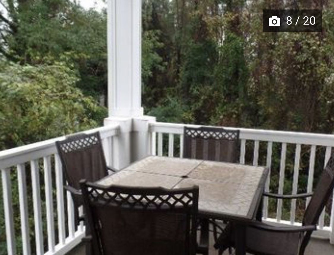 Balcony beautiful villas outdoor decor north myrtle