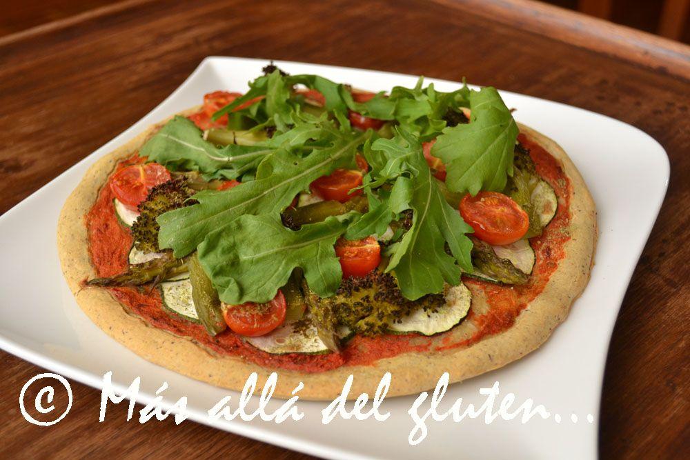 Pizza Verde De Garbanzo Receta Gfcfsf Vegana Garbanzos Garbanzos Recetas Recetas De Comida