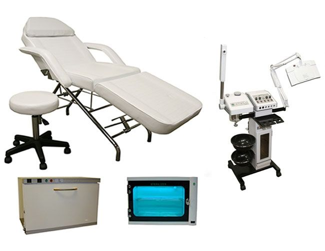 Facial Table And Equipment Esthetician Room Decor Minerva Beauty Skin Care Packaging
