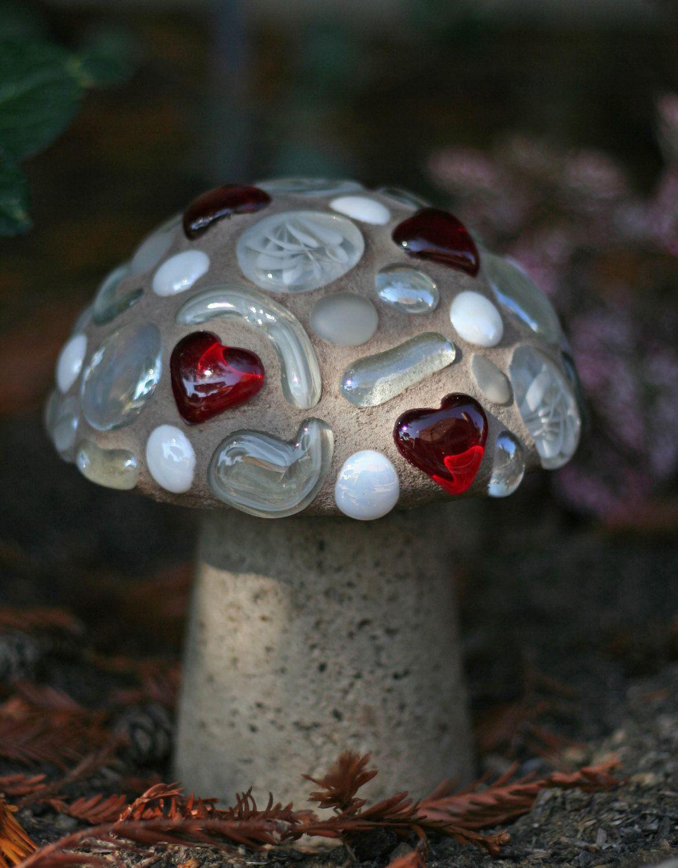 """7"""" Red Heart Mushroom. $45.00, via Etsy."""