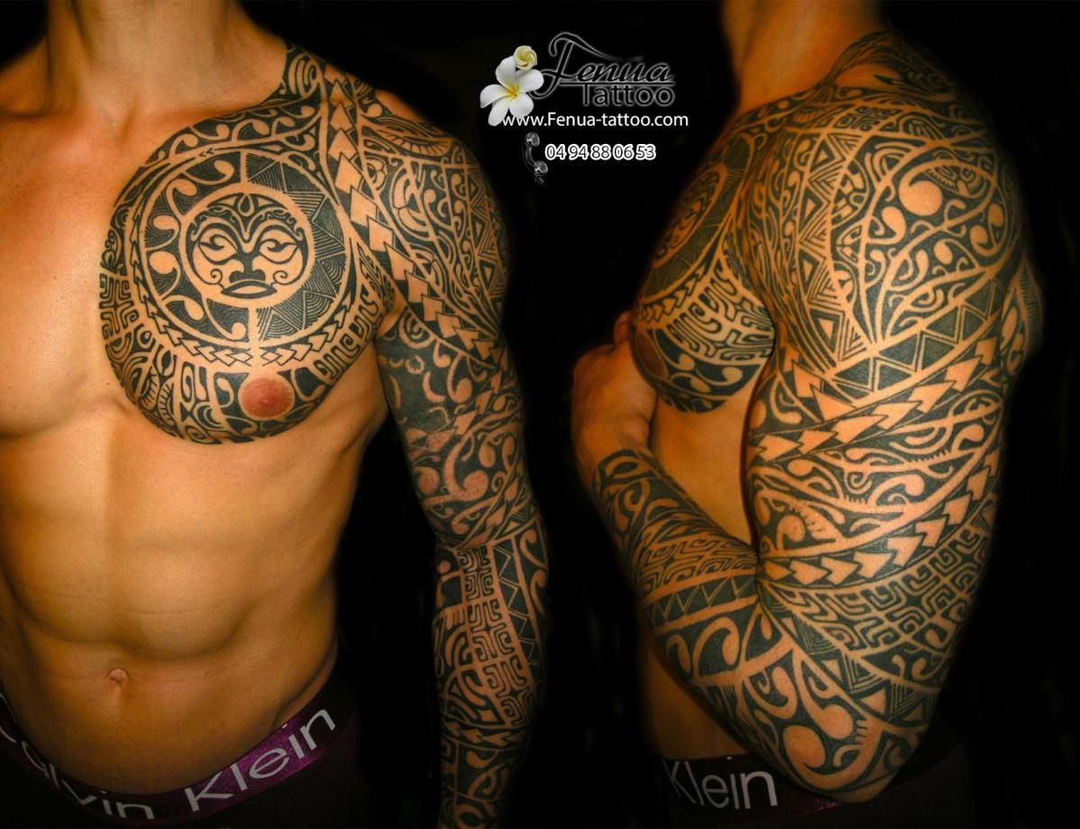 tattoo maori Recherche Google Sleeve Tattoos Pinterest