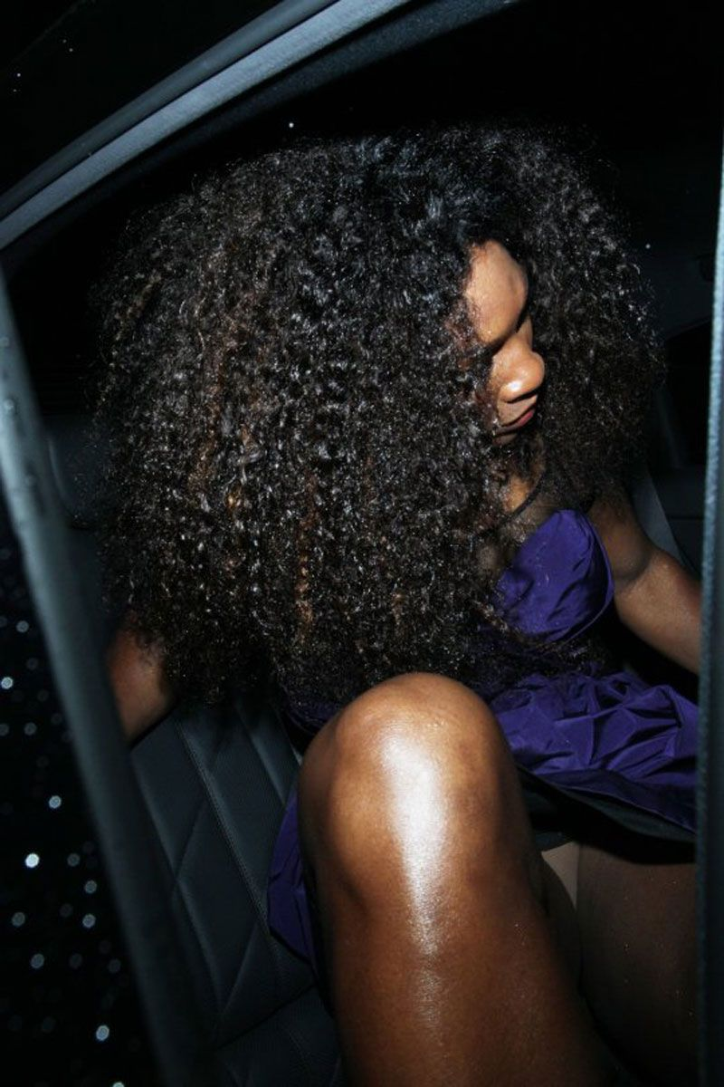 Serena Williams Ass Serena Williams White Panty Upskirt Out Of The Limo
