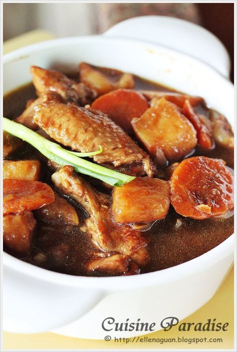 Cuisine paradise singapore food blog recipes reviews and travel cuisine paradise singapore food blog recipes reviews and travel dark soy sauce chicken with potato cubes stew cooking recipe pinterest soy sauce forumfinder Images