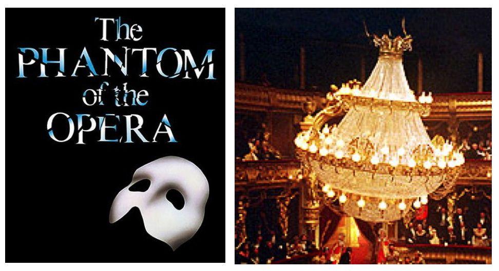 Phantom Of The Opera Chandelier