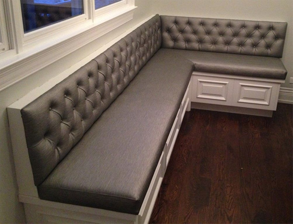 Interesting Corner Bench Seating With Storage For House Indoor Furniture:  Charming Design Of