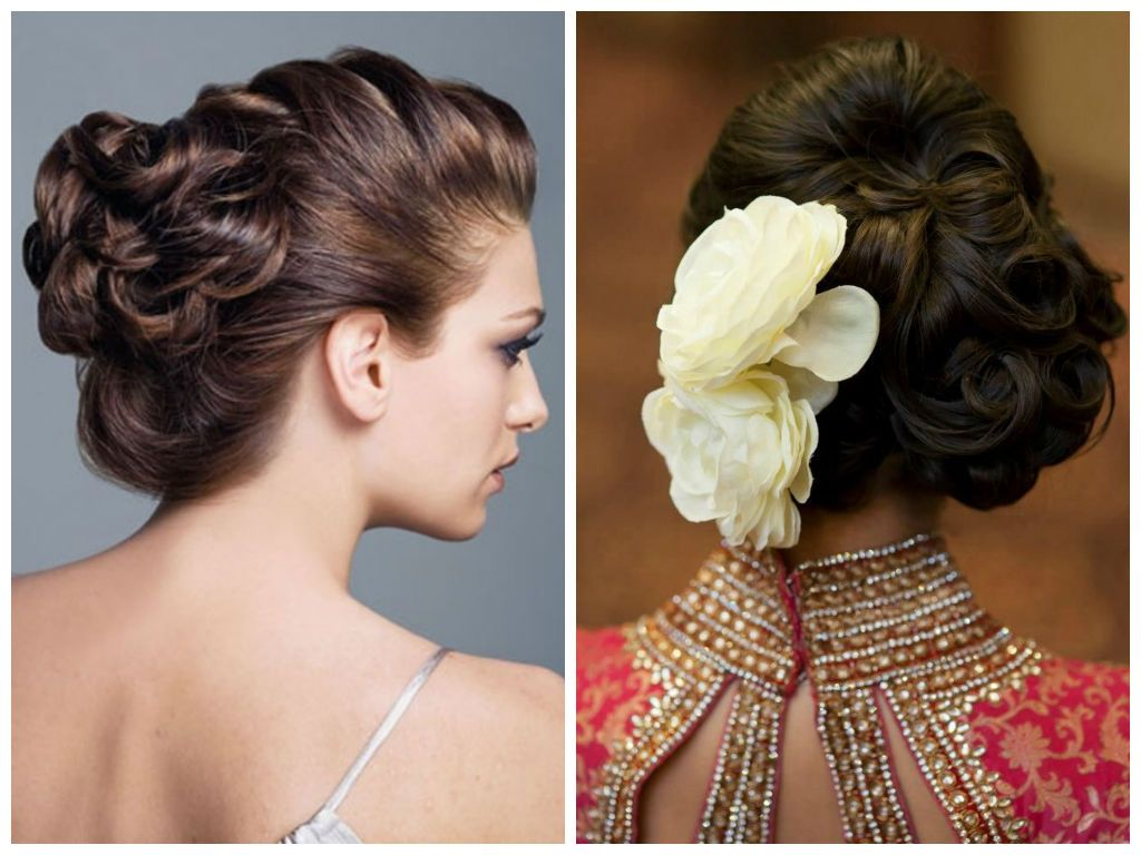 indian wedding hairstyle ideas for medium length hair | wedding