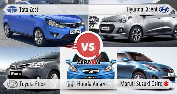 Honda Amaze Vs Hyundai Xcent Comparison Yell To Drive Hard With