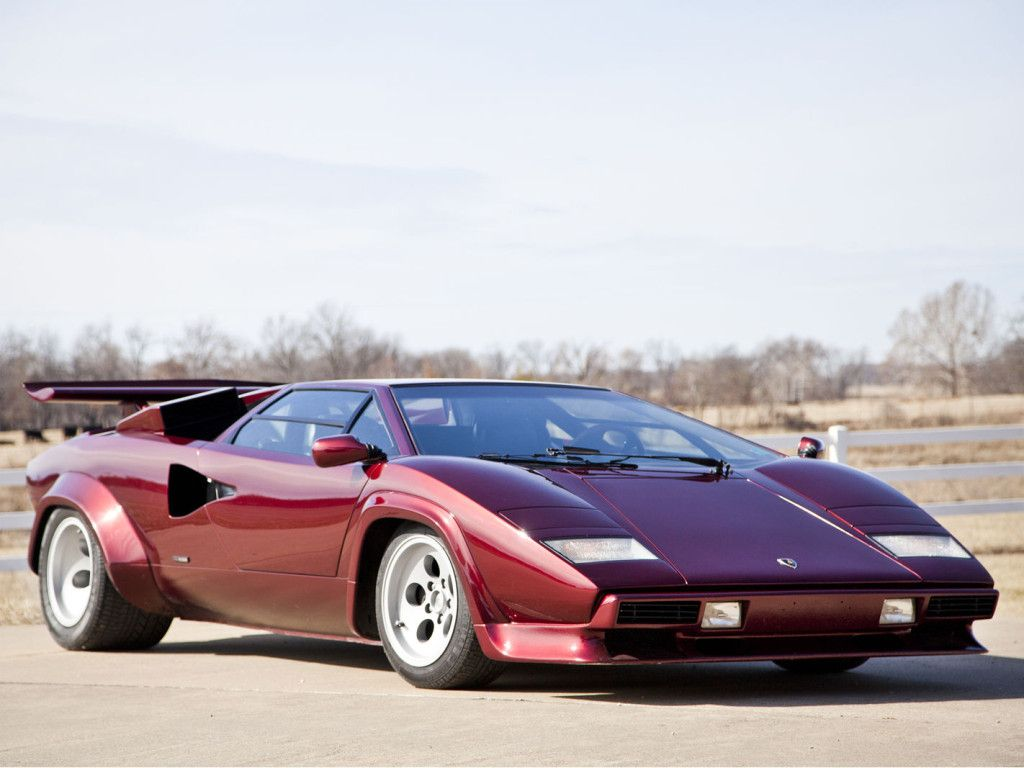 Lamborghini Countach Old School But Still Love This Car