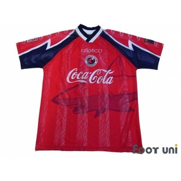 381c9530a Photo1  CD Veracruz 1997 Home Shirt  atletica  cocacola - Football Shirts