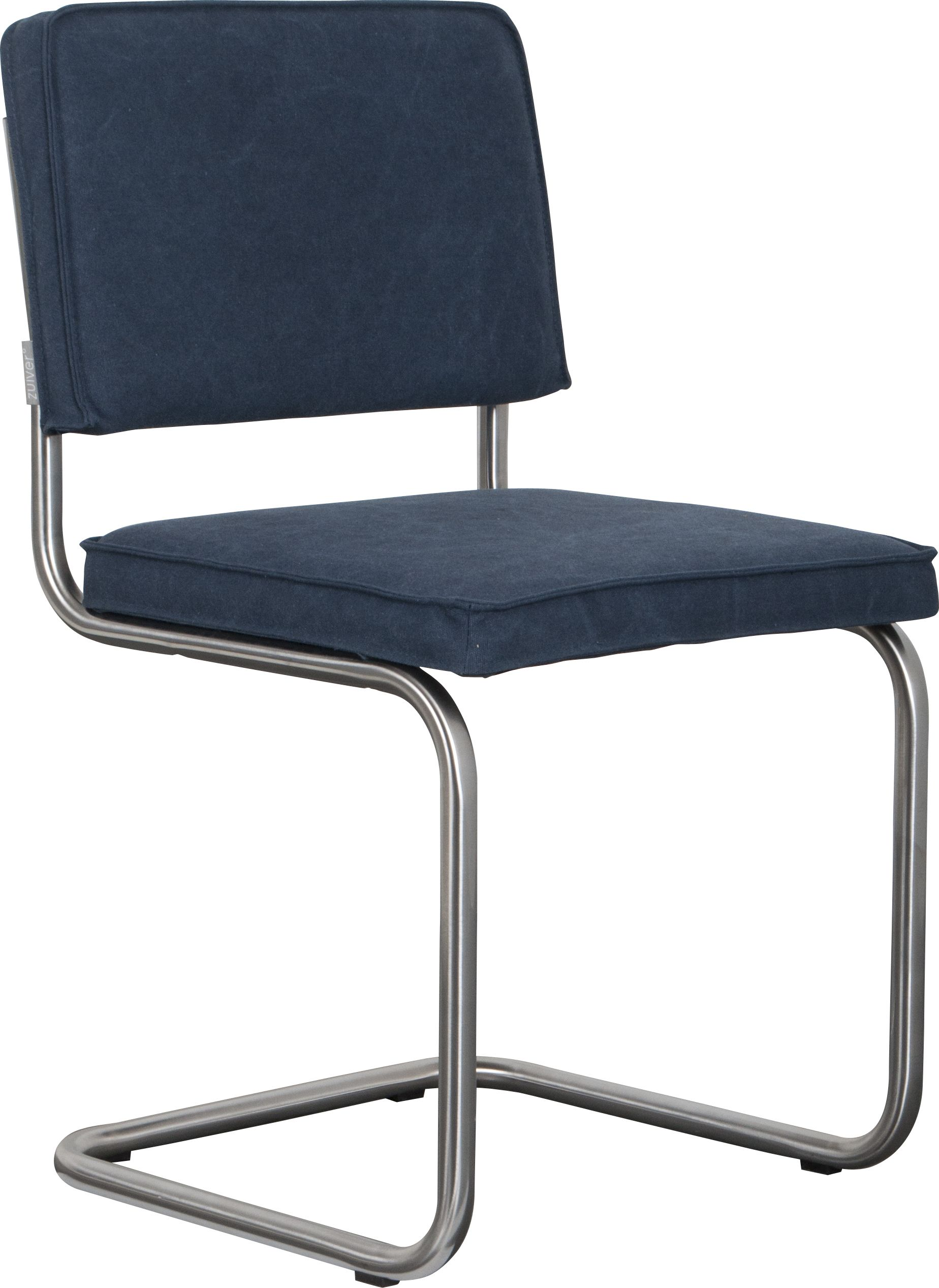 Ridge vintage brushed frame chair - Sailor Blue | Zuiver Chairs ...