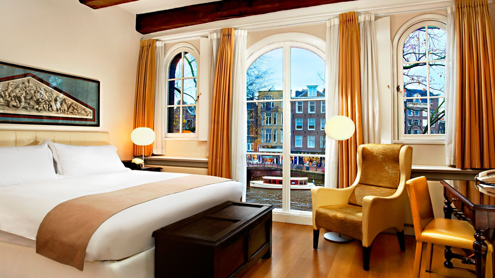 Nh Barbizon Palace Hotel Is A 5 Star The Facility 0 6 Km From