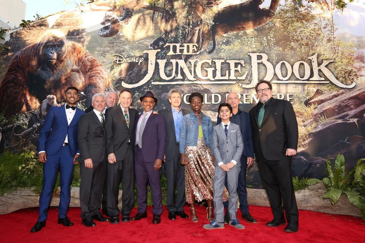 The cast and crew of disney s latest film the jungle book shared their