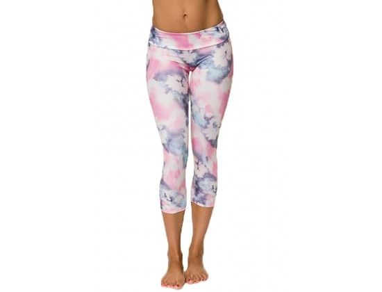 1e2d71d9b6 Roozt - Onzie - Summer Tie Dye Capri Yoga Pant-$52.00 Look good and do. Yoga  FashionFitness FashionWorkout PantsWorkout ...
