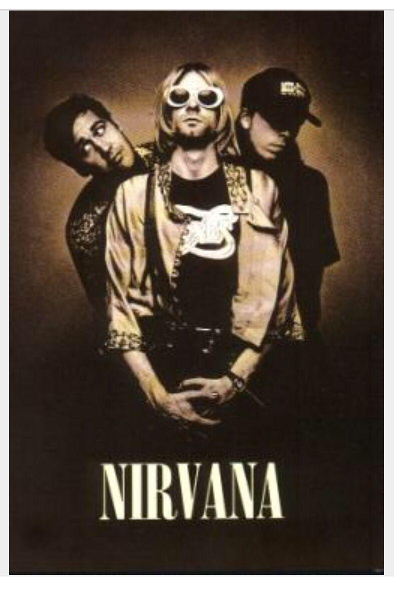 90s nirvana poster