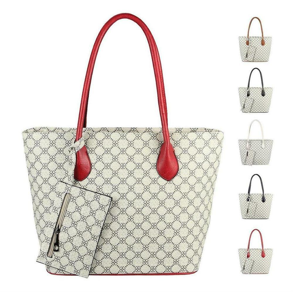 Photo of [Werbung]  WOMEN'S BAG SHOPPER handbag shoulder bag shoulder bag leather op …