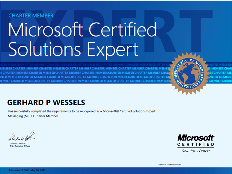 MCSE stands for Microsoft certified system engineer. MCSE