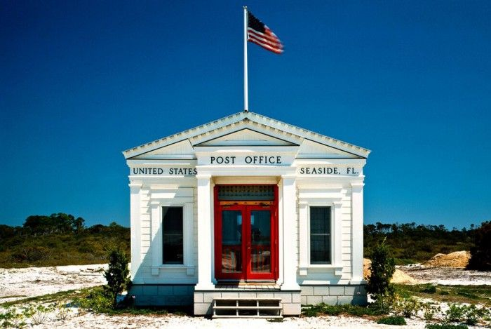 30 Years Later Seaside Post Office Has Become Icon Of Booming Town Old Post Office Seaside Fl Post Office