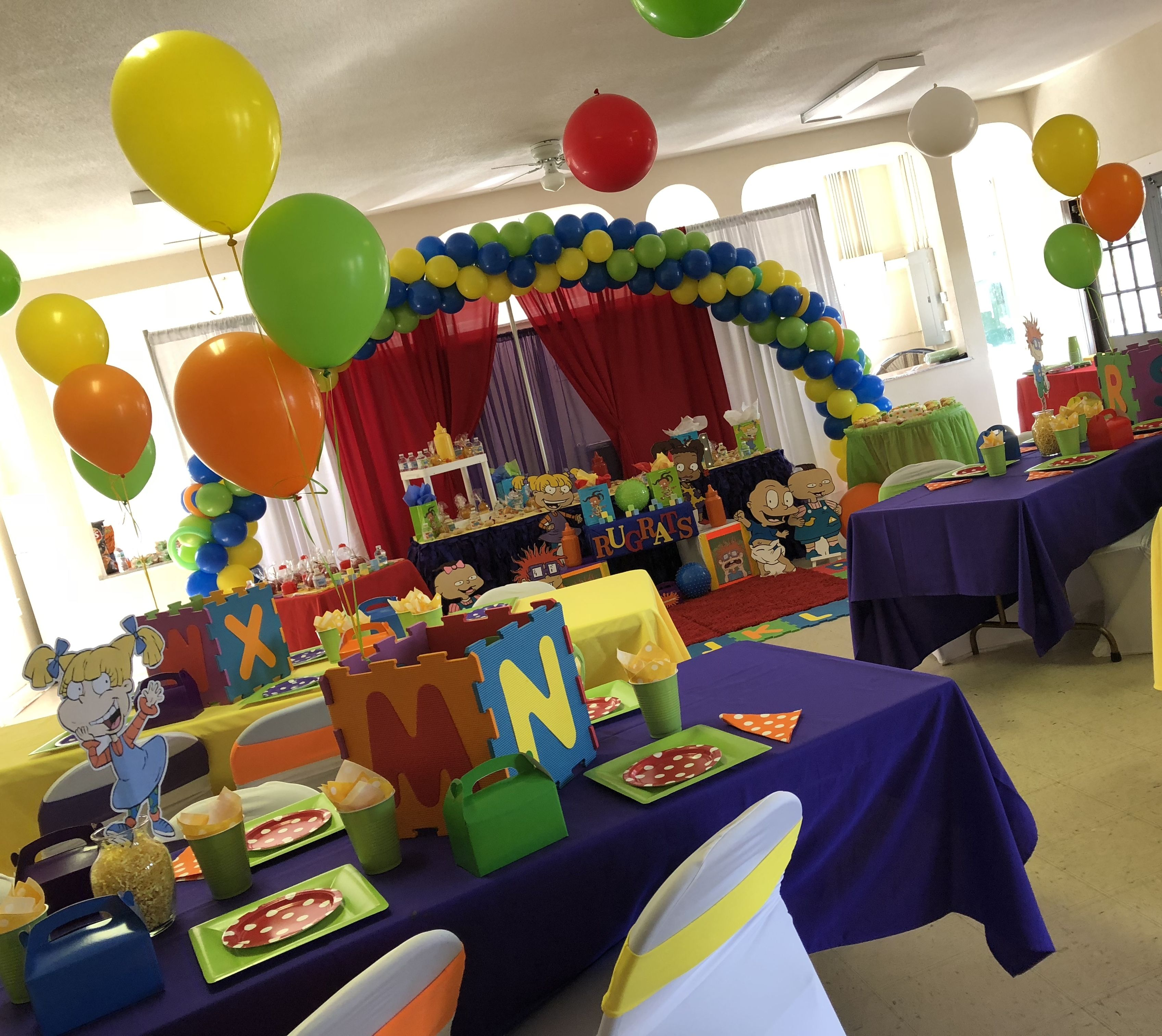 Need A Rugrats Party Idea View Rugrats Rugrats Fat Daddy 1st Bday