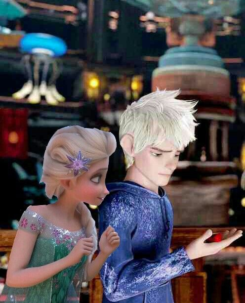 """Elsa I don't think I can do it"" ""I believe in you Jack you can do this"""
