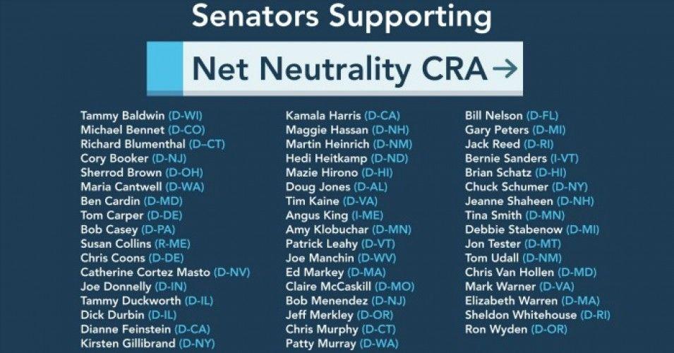 Senate Democrats Prepare Final Push To Save Net Neutrality As