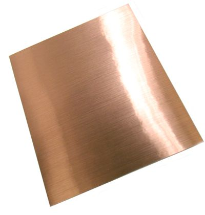 Faux Brushed Copper Adhesive Sheet Copper Adhesive Copper Sheets