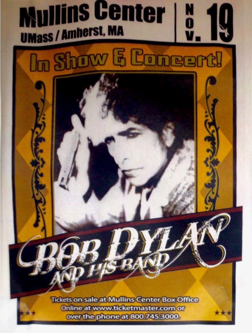 Bob Dylan Concert Nov. 19, 2010