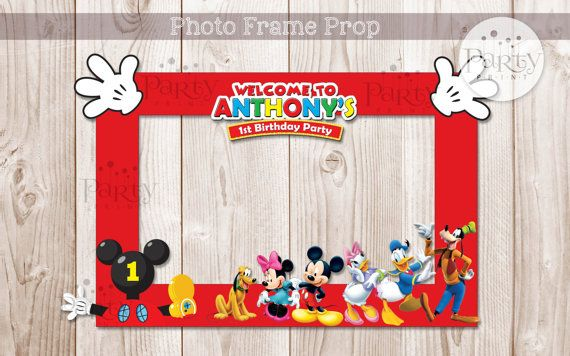 Print it yourself digital copy mickey mouse clubhouse inspired diy print it yourself digital copy mickey mouse clubhouse inspired diy photo frame propno physical item will be shipped solutioingenieria Images