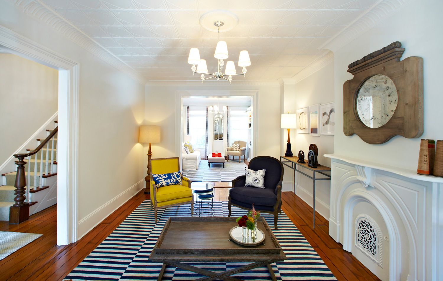 Boerum Hill Brownstone | Townhome | Pinterest | Living spaces and Spaces