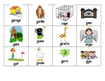 Hard G vs Soft G Sort by Amanda's Little Learners   TpT